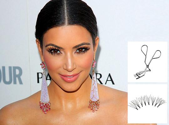 Get Kim Kardashian S Spider Lashes